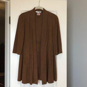 Joseph Ribkoff Faux suede jacket
